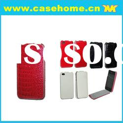 cell phone case /case for iphone 4/leather case for iphone 4s