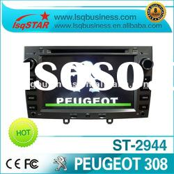 central multimidia Peugeot 308 with gps radio, DVBT ISDBT digital tv optional