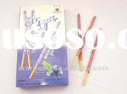 chocolate biscuit similar to Glico Pocky chocolate biscuits
