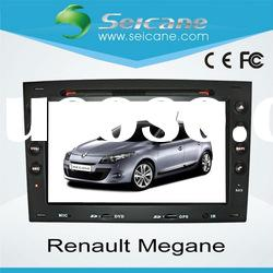 double din special car dvd player gps navigation for Renault Megane