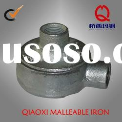 electric galvanized iron pipe fittings --junction box
