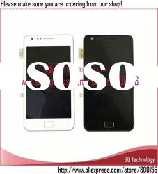 for Samsung i9000 Galaxy S LCD with Touch Screen Digitizer+Frame Assembly Black and White Colour