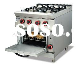 free standing Gas cooking Range With 4-Burner&Oven (GH-987A-2)0086-13580546328