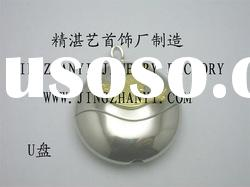 high-grade 925 sterling silver USB flash driver (customer's design only)