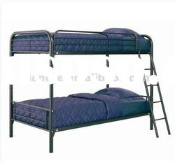 high quality!!modern full over full metal bunk beds/school twin metal bunk bed with stairs