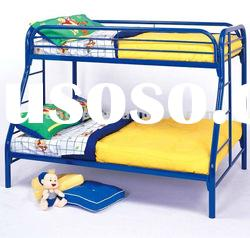 high quality!!modern twin over full metal bunk beds/school twin metal bunk bed with solid
