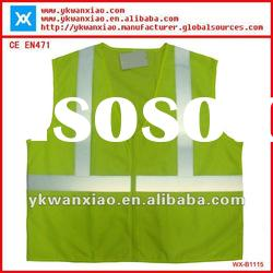 high visibility reflective mesh vest with EN471 standard,EN471 mesh vest with high visibility