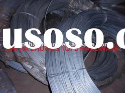 hot-dipped galvanized iron or steel wire