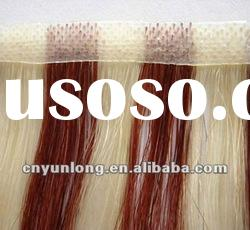 hot!!! premium quality 100% human hair remy hair piano color skin weft 24""