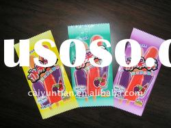 hot selling candy food coloful plastic packaging bag