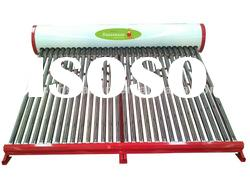 inclined roof low pressure solar water heater