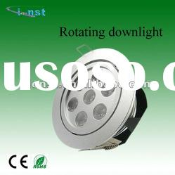 led recessed downlight 7W adjustable led downlight