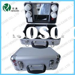 lighting makeup case,aluminum makeup case with light(HX-D865)