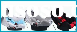 luxury portable carbon fiber baby doll car seat
