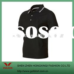 mens elegant short sleeve polo shirt golf shirt