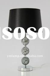 modern glass table lamp/hotel lamp