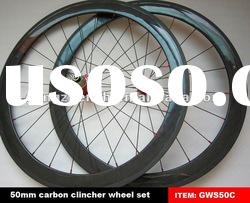 most popular clincher wheels 50mm,cheap price and carbon bike parts wheels