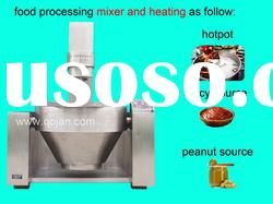 one process of tomato sauce production line