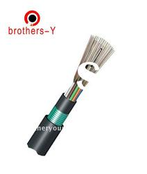 outdoor fiber optic cable with messenger