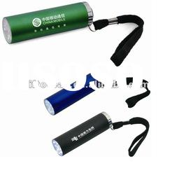 promotional 9 LED torch, LED gift torch light, alloy torch