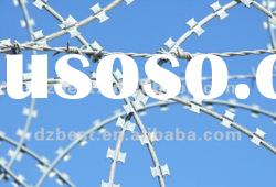 pvc coated razor barbed wire