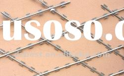 pvc coated razor barbed wire mesh