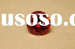 red round AAA quality cubic zirconia gemstones for jewelry filling