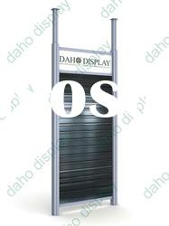 retail store aluminum slatwall display