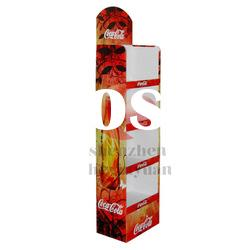 retail store displays, 4-tier display stand, beverage display stand