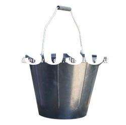 rubber buckets with handle 14L