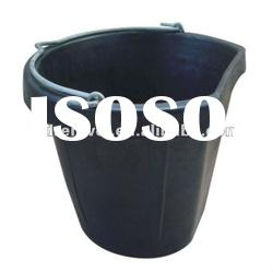 rubber buckets with handle 17L