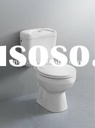 sanitary ware wash down two piece toilet