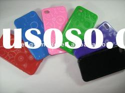 silicone case for iphone4, 4s / TPU&Plastic&Leather case for mobile phone