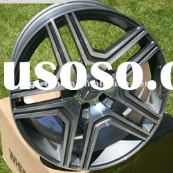 silver hype face alloy wheels china for mercedes benz