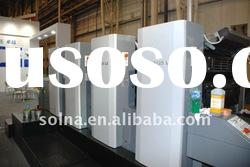 solna 425LS 4 color offset printing machine automatic plate change