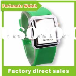 stainless steel back water resistant led watch LD2628