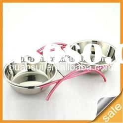 stainless steel dog/cat food can