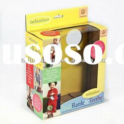 toy packaging box with window