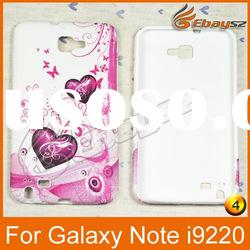 v-Free Shipping Cheap Price,Lovely Butterfly And Flowers Theme Case For Samsung i9220 LF-0408