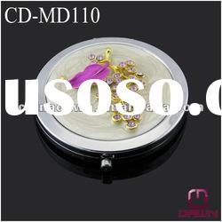 wedding giveaway gift mirror with diamonds grape CD-MD110