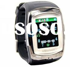 007+ voice dialing bluetooth headset wrist watch phone