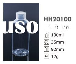 100ml plastic bottle for cosmetic packaging