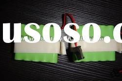 12V 800mah AAA 5*2 rechargeable Ni-mh battery Pack