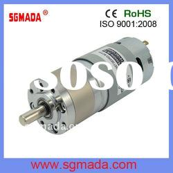 12V high torque Long life low speed planetary gear motor
