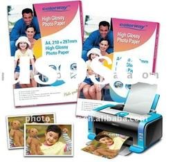 180g high glossy inkjet photo paper magnetic