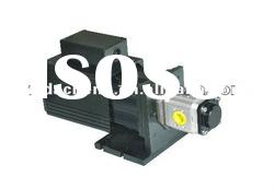 190mm permanent magnet industrial ac servo motor 1kw