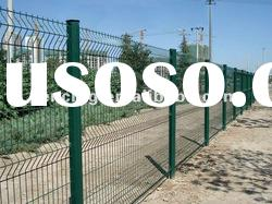 200x50mm/100x50mm opening of wire mesh Fence Panel(factory)