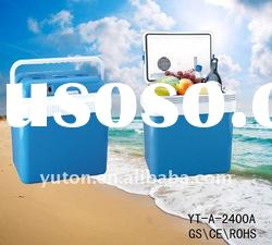2011 hot sell portable car cooler and warmer auto fridge