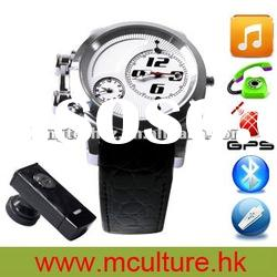 2012 NEW Design Mp4 Camera GPS tracker Cell Phone Watch