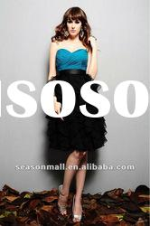 2012 Sweetheart Knee-length Chiffon Sheath/Column Homecoming Dresses